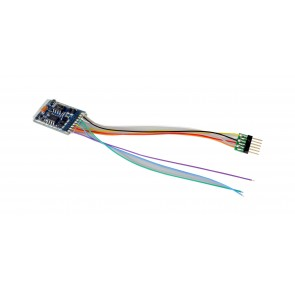Esu 59616 - LokPilot 5 DCC/MM/SX/M4, 6-pin NEM651, Retail, Spurweite H0 ,0