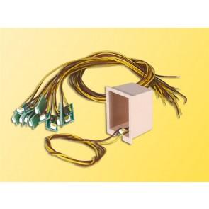 Viessmann 6007 - Huisverlichting met 1 LED geel, 10 stuks