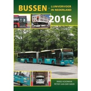 De Alk 978 90 5961 168 9 - Bussen lijnvervoer in Nederland 2016