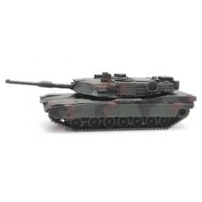 Artitec 6160076 - US M1A2 Abrams camo train load  ready 1:160
