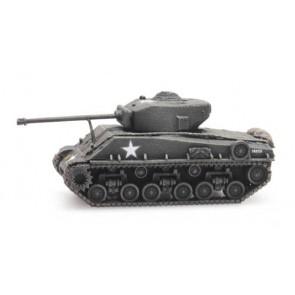 Artitec 6160077 - US Sherman M4A3 E8  train load  ready 1:160