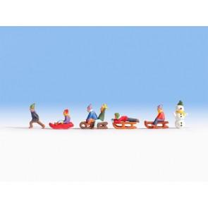 Noch 36819 - Kinder im Schnee