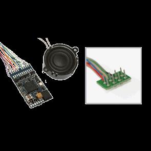 """Esu 64400 - LokSound V4.0 M4 """"Universalgeräusch zum Selbstprogrammieren"""", 8-pin NEM652, Spurweite: 0, H0"""