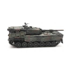 Artitec 6870186 - BRD Leopard 2A4Fleckentarnung Eisenbahntransport  ready 1:87