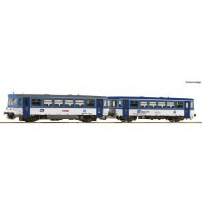 Roco 70379 - Dieseltreinstel 810 472-1 met bijwagen