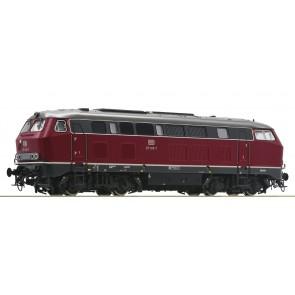 Roco 72757 - Dieselloc BR 215 DB  OP=OP!
