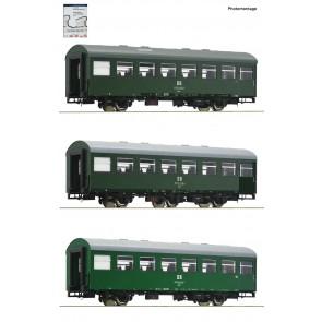 Roco 74071 - 3 delige set 2: Rekowagens.