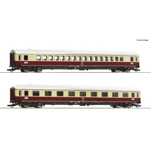 "Roco 74074 - 2 delige personenwagen set 3: TEE 74/75 ""Roland"""
