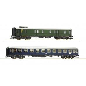 Roco 74098 - 2er Set Schnellzugwag. DB
