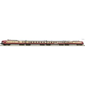 Fleischmann 741085 - 4 delige dieseltreinstel BR 601.