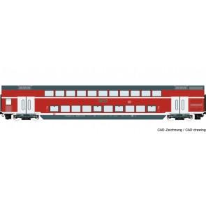 Roco 74154 - Doppelstockwagen DB-AG
