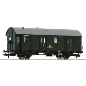 Roco 74418 - Bahnpostwag. grün DB