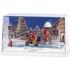 Busch 7638 - Kleindiorma: Merry Christmas XXIII »Geblitzt«