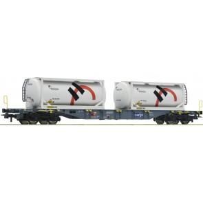 Roco 76943 - Cont.Tragw.+Holcim Tankcont.