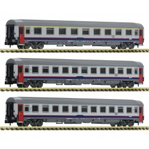 Fleischmann 814508 - 3-tlg.Set Eurofima SNCB
