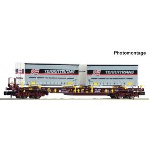 Fleischmann 825056 - Containerwagen T3 + Terratrans