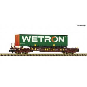 Fleischmann 825057 - Taschenwagen T3 + Wetron
