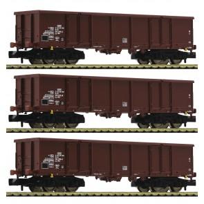 Fleischmann 828347 - 3-tlg. Set: Off. Güterwagen Ea
