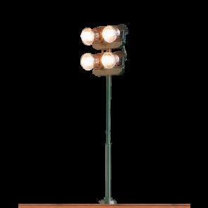 Brawa 84052 - Flutlicht, 4-fach, Stecksockel