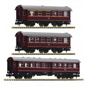Fleischmann 881904 - Set: 2x Umbauwagen 3ax, + 1 Um