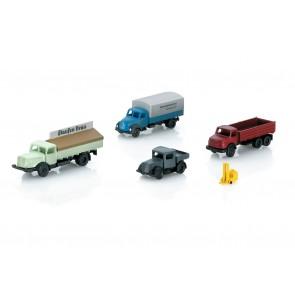 Marklin 89023 - Fahrzeug-Set gemischt