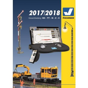 Viessmann 8999 - Catalogus 2017 / 2018 (Duitstalig)