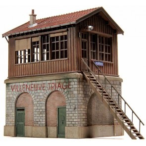 Artitec 10.182 - Seinhuis Villeneuve-Triage  kit 1:87