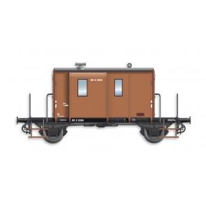 Artitec 20.214.03 - DG  D 2555, vaal bruin, IIIb-c  train 1:87