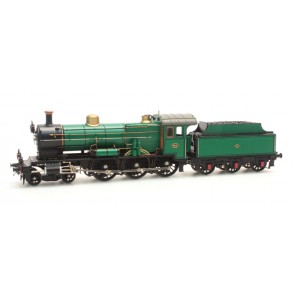 Artitec 20.220.02 - NS 3737 grasgroen 3-as tender 21-31, analog GS  train 1:87