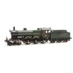 Artitec 20.225.04 - NS 3760 olijfgroen 3-as tender 50-58, analog GS  train 1:87