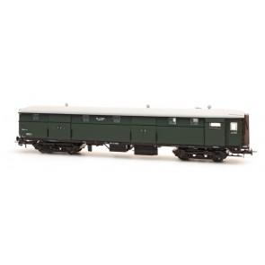 Artitec 20.243.01 - Stalen D 4 d  D 7603, olijfgroen, grijs dak, II  train 1:87