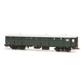 Artitec 20.243.02 - Stalen D 4 d  D 7601, olijfgroen, grijs dak, II  train 1:87