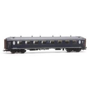 Artitec 20.263.02 - Ovaalramer B 7197, blauw, grijs dak, RIC, IIIc  train 1:87