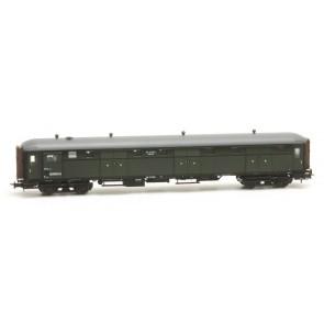 Artitec 20.291.02 - Stalen D 6 d  D 7524, olijfgroen, grijs dak, IIc-IIIa  train 1:87