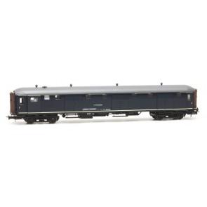 Artitec 20.294.02 - Stalen D 6 d  025-2, blauw, grijs dak, IVa  train 1:87