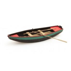 Artitec 387.09 GN - Stalen roeiboot groen  1 stuk  ready 1:87