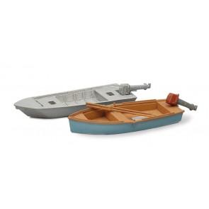 Artitec 387.10 - Sportvissersboten modern I 2 stuks  ready 1:87