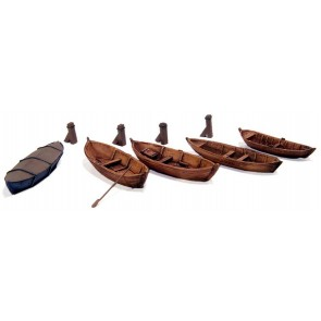 Artitec 54.107 - Roeiboten  kit 1:160