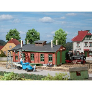 Auhagen 11355 - Lokschuppen für Schmalspurbahnen