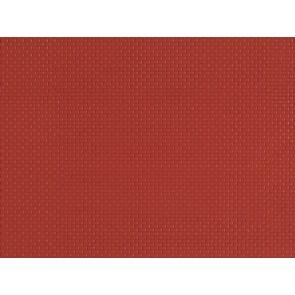 Auhagen 52412 - 1 Dekorplatte Mauerziegel rot lose