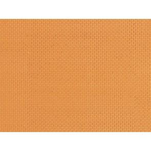 Auhagen 52413 - 1 Dekorplatte Mauerziegel gelb lose