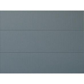 Auhagen 52431 - 1 Dekorplatte Wellblech grau lose