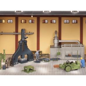 Auhagen 80109 - Dampfhammer und Zubehör
