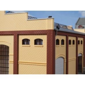 Auhagen 80215 - Fenster M braun