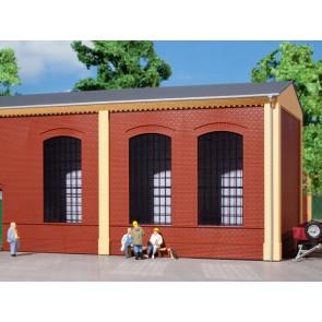 Auhagen 80503 - Wände 2325A rot, Industriefenster E