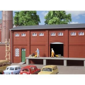 Auhagen 80520 - Wand 2410A, Wände 2410B und Wände 2410D rot