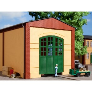 Auhagen 80605 - Wände 2326A gelb, Tore I grün