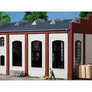 Auhagen 80709 - Wände 2342F geputzt, Industriefenster E
