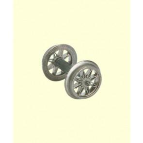 Brawa 2183 - H0 Speichenradsatz Spitzenlagerung, AC
