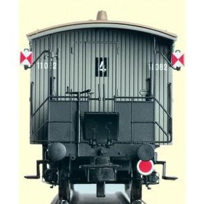 Brawa 2230 - H0 Geländer Zugschluß, 2-Achser